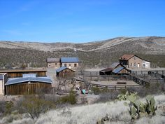 Shakespeare, NM - ghost town