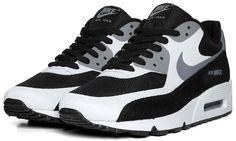 "Nike Air Max 90 Premium ""Black/White/Cool Grey"""