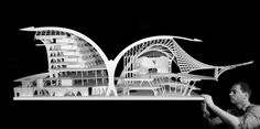 HOME New Zealand: NZ's Architecture van Brandenburg in China China Architecture, Amazing Architecture, Architecture Models, Shenzhen China, Thing 1, Concrete Design, Design Competitions, Inspired Homes, Scale Models