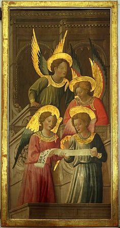 Renaissance Music, Medieval Music, Medieval Art, Entertaining Angels, Catholic Pictures, Paint Icon, Art Through The Ages, I Believe In Angels, Catholic Art