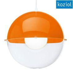 Koziol Orion Hanging Lamp - Orange