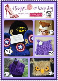 Hookin On Hump Day #55 – Link Party for the Fiber Arts - moogly