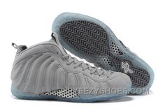 "409fbfecb4ea1 2015 Nike Air Foamposite One PRM ""Grey Suede"" Wolf Grey-White For Sale  Lastest PQ8yw"