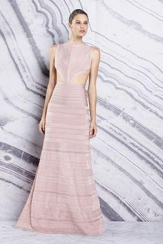 Herve Leger by Max Azria Resort 2016 Look 16 of 34