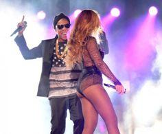 """Beyoncé e Jay-Z param Miami com abertura da turnê """"On the Run"""" http://angorussia.com/?p=20619"""