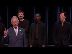 'To be or not to be?' featuring Benedict Cumberbatch & Prince Charles - Shakespeare Live! - BBC - YouTube