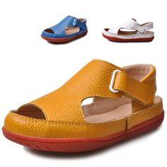 2015 new arrival children sandals boys sandals fashion kids sandals genuine leather breathable children shoes boys shoes