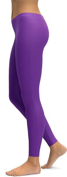 Purple Leggings, Girls In Leggings, Yoga Leggings, Women's Leggings, Yoga Pants, Tights, Nylons, Culture Clothing, Women's Clothing