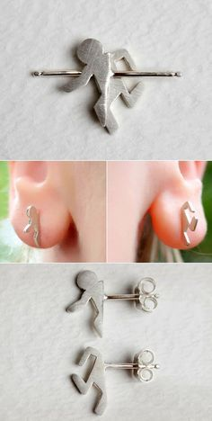 Portal earrings.