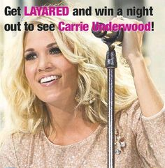 We want to send you and a guest for Dinner and a Show! Find our Carrie Underwood Trivia Questions through Layar each Wednesday in FYi and Saturdays Times-Herald. Submit your answers: Pin it, Tweet it, post to Facebook or Register to our Times-Herald website for contest entry.   Deadline for Entries is May 10th. So Get Layar'd and Good Luck! For any assistance or questions please contact kristiek@mjtimes.sk.ca Trivia Questions, Carrie Underwood, Carry On, Wednesday, Night Out, Events, Times, This Or That Questions, Facebook
