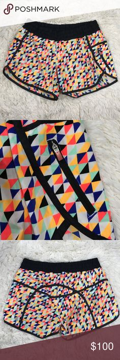 Lululemon SeaWeeze Triangle Print Shorts Lululemon SeaWeeze Triangle Print Shorts Size:10  color:multi Box…/16 lululemon athletica Shorts