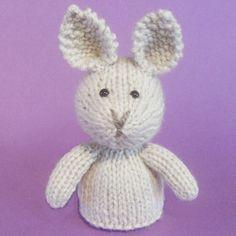 Rabbit Toy Knitting Pattern PDF by Jellybum on Etsy, $3.50
