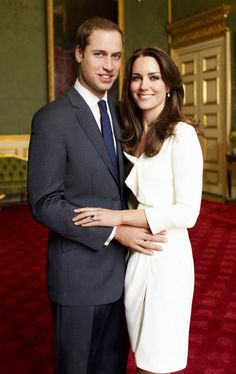 2010 The official engagement portrait of Prince William & Kate Middleton