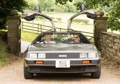 Not so Yorkshire but its still a Delorean! Curtesy of Chris at http://www.deloreanhirenortheast.co.uk/ - Photo by Ruth Mitchell Photography