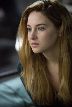 Shailene Woodley as Tris Prior in Divergent. She is so pretty and she was such a good actress.