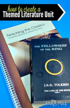 "From - Advice on How to Create a Themed Literature Unit - ""Middle school is a great time to start discussing literature. Spend time diving into the world the author has created with a themed literature unit centered around the book we're reading. Student Reading, Teaching Reading, Teaching Literature, Fun Learning, Socratic Method, Homeschool Curriculum, Homeschooling, Middle School, High School"