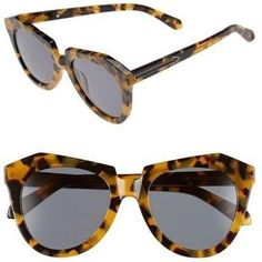 8ade87f6345f Karen Walker Number One Sunglasses as seen on Amber Heard