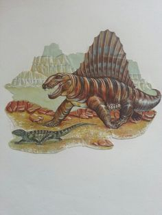 Dimetrodon - P. Lenander