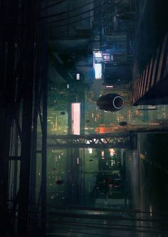 Post with 5639 votes and 211576 views. Tagged with art, cyberpunk; Shared by Cyberpunk art dump Ville Cyberpunk, Art Cyberpunk, Cyberpunk Aesthetic, Sci Fi City, Underground Cities, Futuristic City, Science Fiction Art, Art Abstrait, Shadowrun