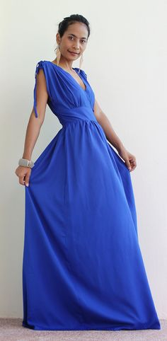Summer Maxi Dress by Nuichan, $59.00