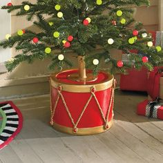 christmas tree collar for a large christmas tree stand - Google Search