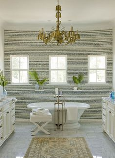 Beautiful Stripe Southern Living Homes, Traditional Bathroom, Modern Traditional,  Master Bathrooms, Dream Bathrooms