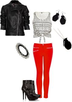 Punk Chic Insperation, created by paigesanz on Polyvore