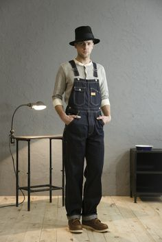 Great Overall Look But You Gotta' Lose The Amish Style Hat.