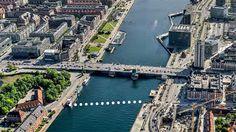 Nu er projektkonkurrencen om den ny cykel- og gangbro nord for Langebro gået i gang. Fem inviterede hold, skal komme..