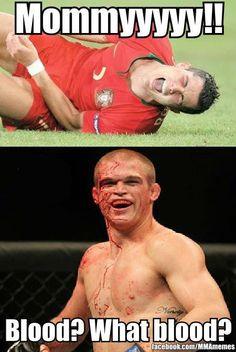 funny mma memes | Football vs MMA | Bored ShitlessBored Shitless