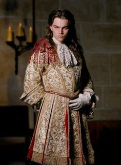 """Leonardo De Caprio played Louis XIV in """"Man In TheIronMask"""" - fictitious tale of Louis XIV and his supposed twin brother. The ral man I the iron mask was Fouquet, the architect of Versailles."""
