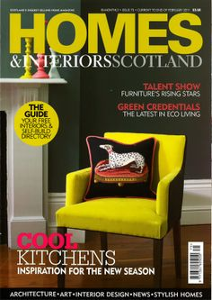 home and interiors scotland. Homes and Interiors Scotland Home  Khoury Architects in the Press
