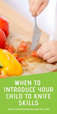 When and how should you introduce a knife to your child? Get practical advice and ideas for all ages.     #PracticalLife #Montessori #OccupationalTherapy #PediOT #EverydayLifeSkills #KnifeSkills