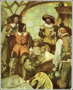 Mead Shaeffer - The Three Musketeers (3 of 4)