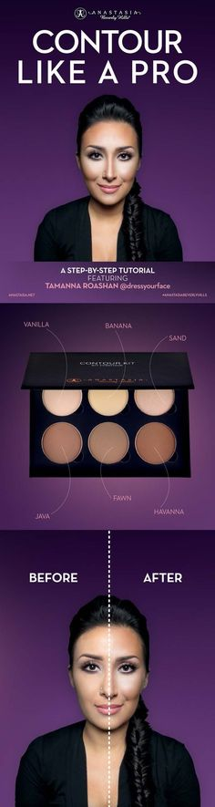 Anastasia Beverly Hills Contour Kit Medium to Tan 6 pans x 0.11 oz