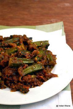 Punjabi Bhindi Masala Spicy okra