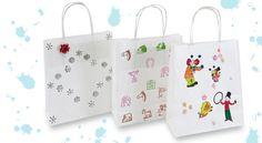 Jak originálně ozdobit dárkovou tašku / How to decorate gift bag http://www.skolnisvet.cz/jak-vyrobit-originalni-darkovou-tasku/