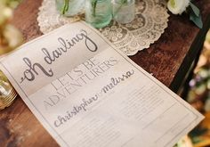 customized marriage certificate | design by Ashton Events | photos by Penny & Finn