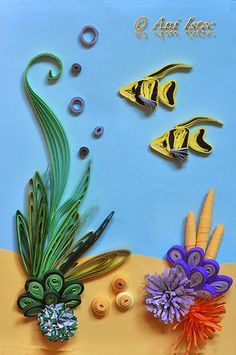411 Best Quilling Fish Images In 2019 Quilling Papercraft