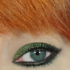 kats colourings: EOTD's: bhcosmetics Olive Green...