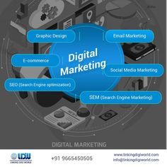 Digital Marketing is a phrase determined to attain your business aims and goals using the online channels to engage & exchange your product or service to potential consumers. It includes several methods such as search engine optimization (SEO), search engine marketing (SEM), content marketing, influencer marketing, content automation, campaign marketing, data-driven marketing, e-commerce marketing, social media marketing, e-mail direct marketing, display advertising, graphic design. Direct Marketing, Digital Marketing Strategy, Business Marketing, Content Marketing, Social Media Marketing, Display Advertising, Search Engine Marketing, E Commerce, Influencer Marketing