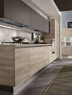 New No Cost scandinavian Kitchen Colors Strategies It may seem like an easy thing to do, but choosing colours for your blank canvas of a kitchen needs Kitchen Room Design, Kitchen Cabinet Design, Home Decor Kitchen, Kitchen Interior, Kitchen Colors, Decorating Kitchen, Diy Kitchen, Kitchen Ideas, Country Kitchen