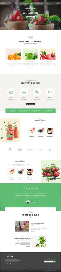 Organik is a wonderful 4 in 1 #WordPress #WooCommerce #theme designed specially for organic store, farm & bakery industry download now➩ https://themeforest.net/item/organik-an-appealing-organic-store-farm-bakery-woocomerce-theme/17678863?ref=Datasata