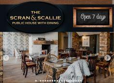 Scran and Scallie interiors Scotland, Public, Restaurant, Interiors, Mood, Dining, Nice, Places, House