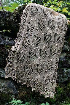 Knit Or Crochet, Lace Knitting, Crochet Shawl, Knitting Stitches, Knitting Patterns, Crochet Patterns, Knitting Ideas, Wedding Shawl, Lace Patterns