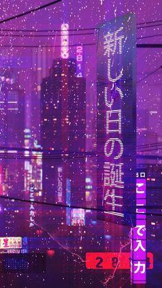 PURPLE AESTHETIC /// neon aesthetic / purple aesthetic photography / aesthetic w. Dark Purple Aesthetic, Violet Aesthetic, City Aesthetic, Aesthetic Colors, Aesthetic Collage, Aesthetic Pictures, Aesthetic Vintage, Purple Aesthetic Background, Aesthetic Japan