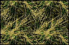 Shadow Grass Mossy Oaks Brown & Green Camouflage Nylon Area Rug