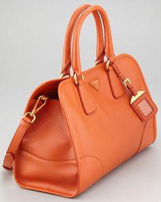 83fed256c0dad Prada Saffiano Lux Double-Handle Tote Bag
