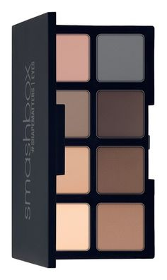 Loving this mini palette that's filled with 8 matte wet/dry eyeshadows that can be used as liner, eyeshadow or brow powder.