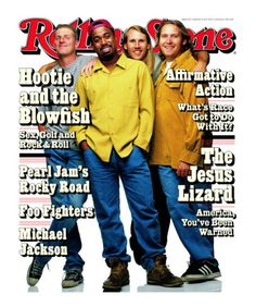 Hootie and The Blowfish, Rolling Stone no. 714, August 1995